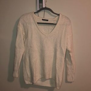 brandy melville white sweater